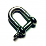 12mm Stainless Steel D-Shackle