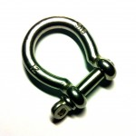 12mm Stainless Steel Bow-Shackle